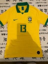 Título do anúncio: Camisa da Seleção Modelo do Jogador Oficial Nike Tm M
