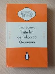 Livro Triste fim de Policarpo Quaresma, Lima Barreto - NOVO