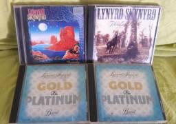 Lote cds do Lynyrd Skynyrd
