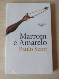 Livro Marrom e amarelo, Paulo Scott - NOVO