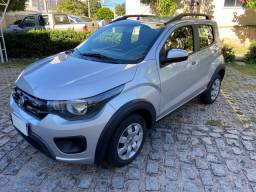 Fiat Mobi Way  2017 - Apenas 25 mil km revisões na concessionária