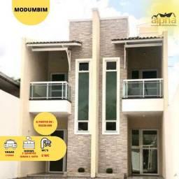 Lindíssima Casa Duplex com 2 Suítes - 142m² no Mondubim
