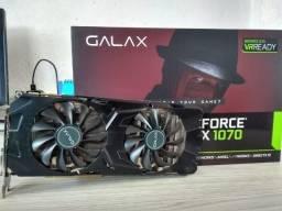 Barbada - Placa de Videos GTX Galax 1070 EX 8GB