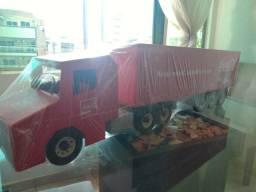 Vendo caminhão coca cola de Natal madeira.