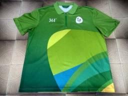 Camisa de Voluntário Rio 2016 (Verde) d1c8d0077fd8a
