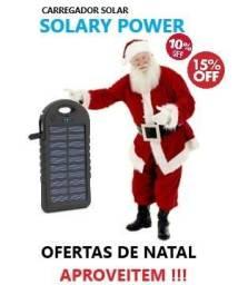 Carregador Portátil Solar (Solary Power)