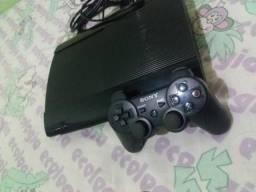 PS3 500GB + Controle + jogos + entrega