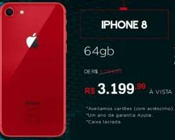 Iphone 8 red 64gb (lacrado)