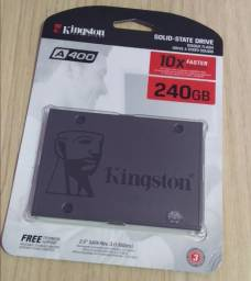 SSD Kingston 240GB - A400 - Lacrado