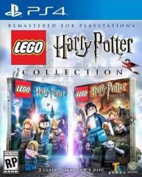 Jogo PS4 Lego harry potter collection aceito cartões