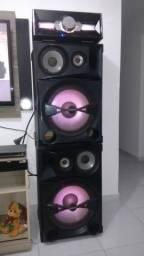 Som da sony shake 7 2400 wats