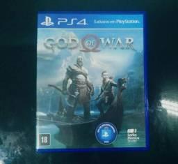 Novo god of war ps4 - troca