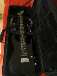 Guitarra Jackson com case
