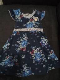 Lindo vestido marca milon Tam 6 anos