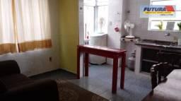 Apartamento com 1 dormitório para alugar, 32 m² por R$ 1.100/mês - Boa Vista - São Vicente
