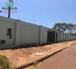 Sobrado comercial com 5 dormitórios para alugar, 190 m² por R$ 2.000/mês - Chácaras Americ