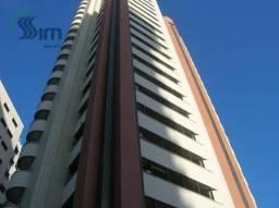 Apartamento residencial para locação no Meireles, Fortaleza.
