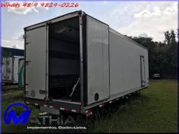 Baú caminhão truck frigorifico refrigerado Mathias Implementos Rodoviários