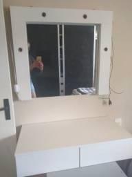 Camarim pentiadeira com espelho mdf