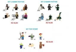 Kit Harry Potter, Toy Story 6 Personagens Lego Compatível R$ 50,00 CADA