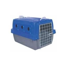 Caixa de transporte tamanho 5 (cabe raças grandes como boxer, pitbull, rottweiler)