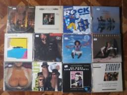 Discos de vinil eurodisco, italo dance, pop, rock e heavy metal
