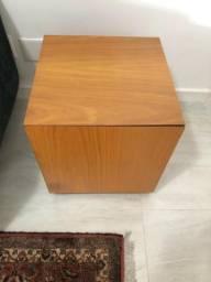 Mesa armário de madeira de carvalho americano