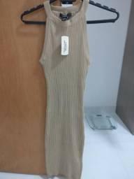 17f8635544 Vestido de tricot Forever 21 - Tam. P