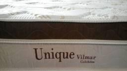 Título do anúncio: Colchão Unique casal padrão molas ensacadas e malha