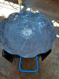 Chapa de disco de arado grande