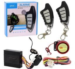 Alarme Knup Todas Moto Partida Pelo Controle Sistema<br><br>