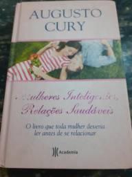 Livro Mulheres  Inteligentes,  Relações Saudáveis- Augusto Cury