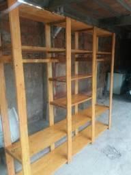 Closet de feito de pallets