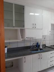 Apartamento com 1 dormitório para alugar, mobiliado por r$ 2.500/mês - gonzaga - santos/sp