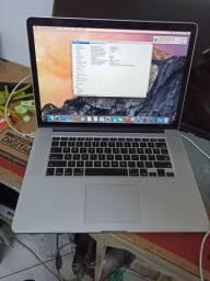 Macbook Pro 2012 Core i7 Ssd 500gb 16gb (trocar Bateria)