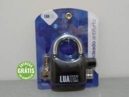 Cadeado Antifurto Aço Reforçado C/ Alarme Sonoro (Entrega Grátis)