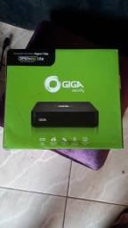 DVR DIGITAL GIGA 8 CANAIS (SEM HD) AC CARTÃO 3x sem juros.