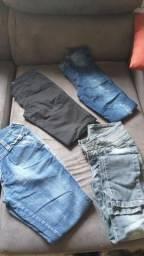 Lote calças feminina 38 /40