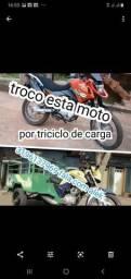 Troco minha moto e triciclo de carga * - 2015