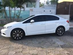 Civic LXR 2015/2015 branco só venda - 2015