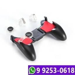 Suporte Game Pad + Gatilho Analógico Celular Free Fire Pubg