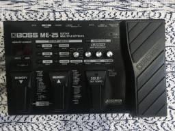 Boss ME-25 com fonte Boss PSA-120ZS