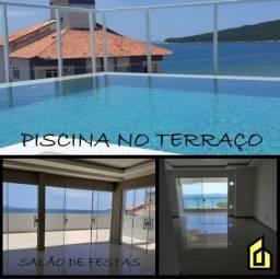 LILis- Maravilhoso apartamento 02 dormitórios com vista para o mar+ piscina na cobertura!