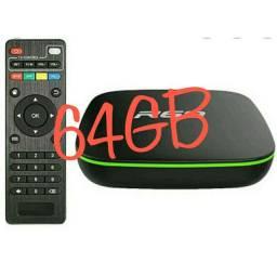 Smart TV Box R69 8K ultra HD 64GB ROM 8GB RAM