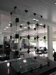 Expositor baleiro de vidro - * Irani