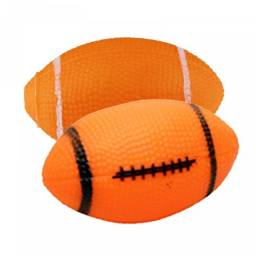 (WhatsApp) brinquedo pet bola futebol americano