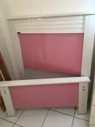 Cabeceira Rosa/Lilás