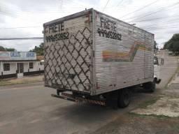 Pajero tr4 2008 Flex vw 6.80 83 Baú troco por caminhão 3/4 mais novo *