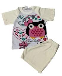 Pijama Infantil Corujita - Calor