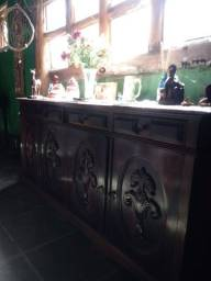 Arca em Jacarandá antiga